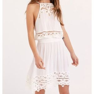 Free People - White Two Piece Set